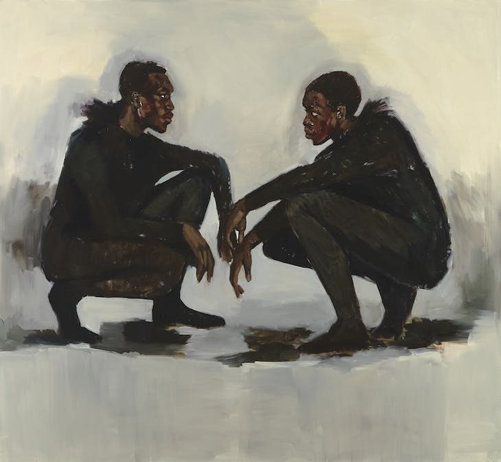 No Need of Speech (2018), Lynette Yiadom-Boakye.