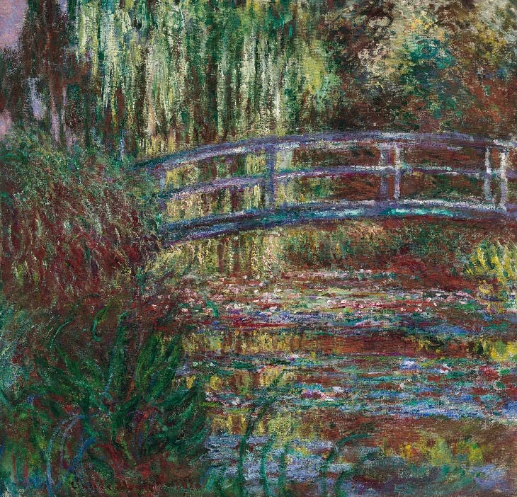 The Water Lily Pond (1900), Claude Monet.