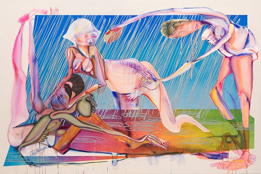 Hard Rain Gon' Come (2020), Christina Quarles.