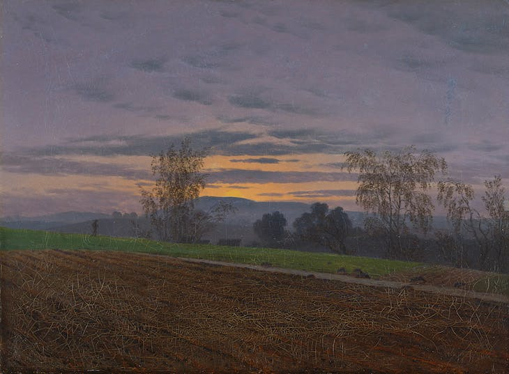 Ploughed Field (c. 1830), Caspar David Friedrich.