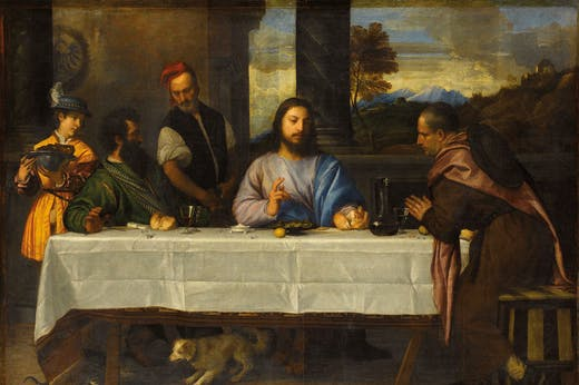 The Supper at Emmaus (c. 1530), Titian.