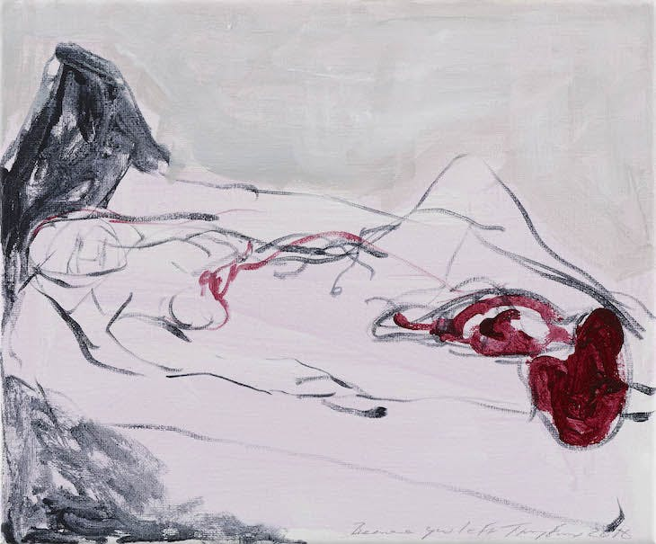 Because you left (2016), Tracey Emin.