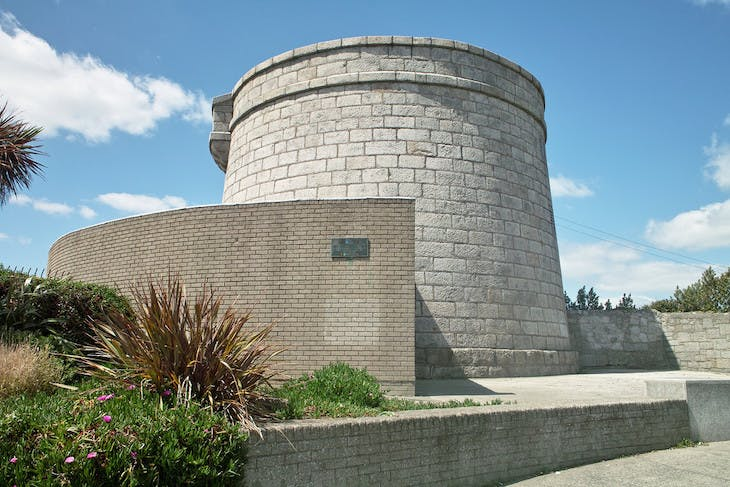 Martello Tower, Sandycove, Dublin, which houses the James Joyce Tower and Museum