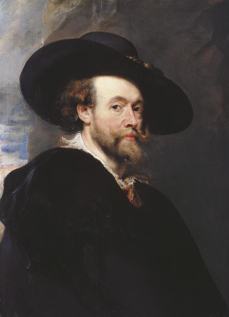 Self-Portrait (1623), Peter Paul Rubens.
