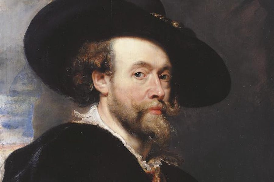 Self-Portrait (detail; 1623), Peter Paul Rubens.