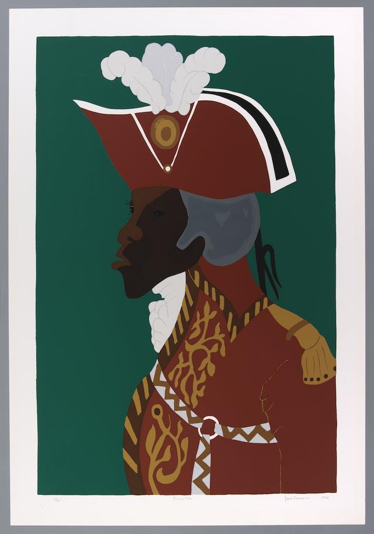 General Toussaint L'Ouverture (1986), Jacob Lawrence.