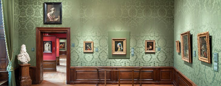 The Mauritshuis virtual tour, viewed on browser