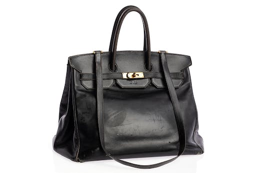 Jane Birkin's Birkin (1984), designed by Hermès.