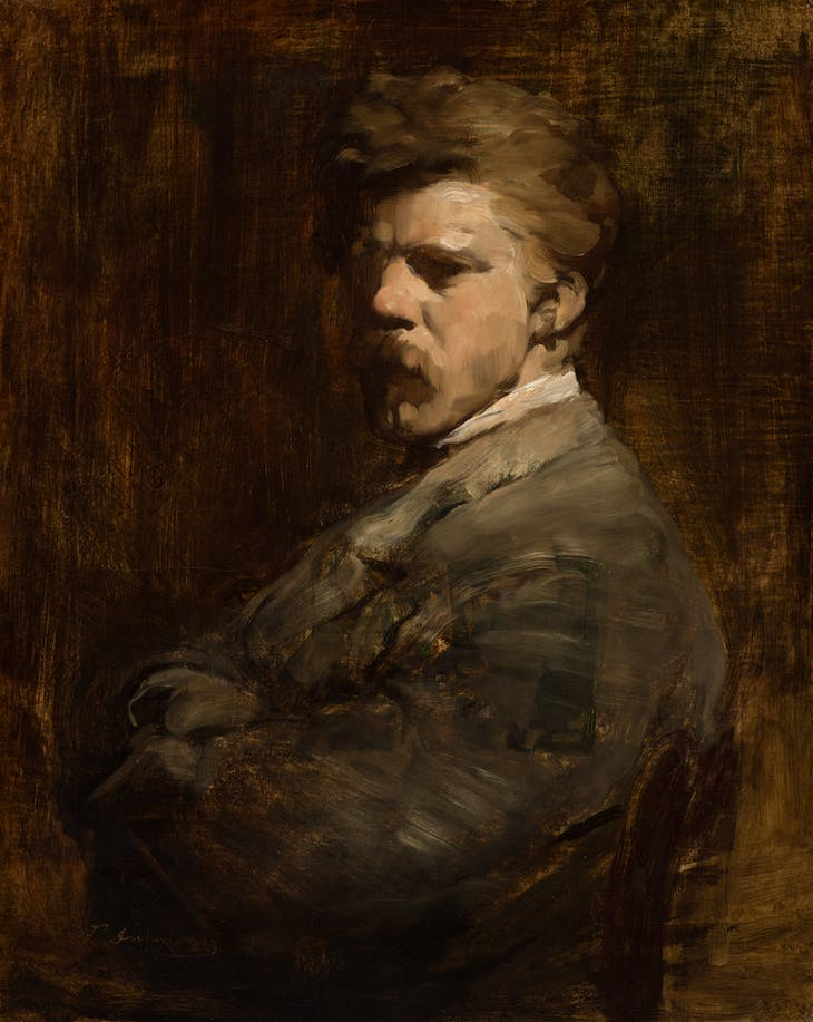 Self-portrait (c. 1877), Frank Duveneck.