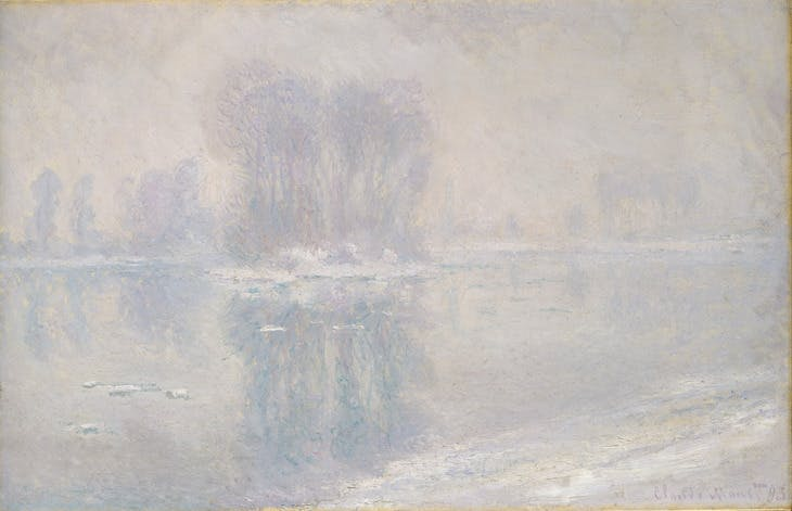 Ice Floes (1893), Claude Monet.