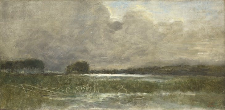 The Marsh at Arleux (1871), Jean-Baptiste-Camille Corot.