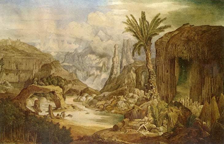 The Origins of Architecture (1838), Joseph Gandy.