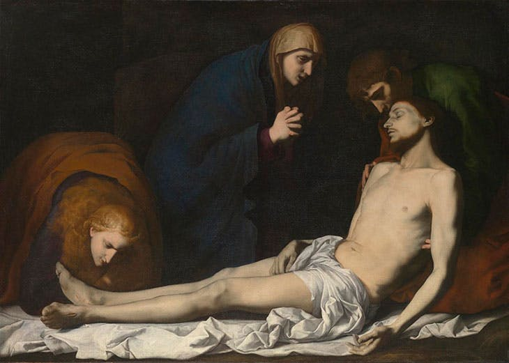 The Lamentation over the Dead Christ (early 1620s), Jusepe de Ribera.