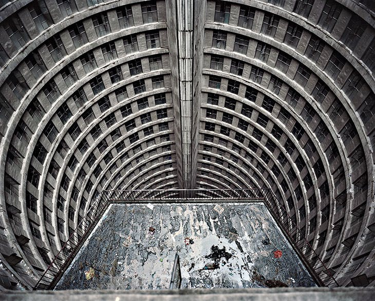 Low Rise Elevator Roof, Ponte City (2008), Mikhael Subotzky and Patrick Waterhouse.