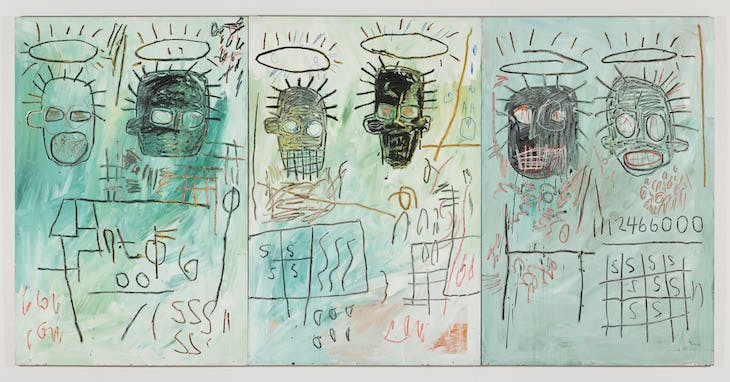 Six Crimee (1982), Jean-Michel Basquiat.