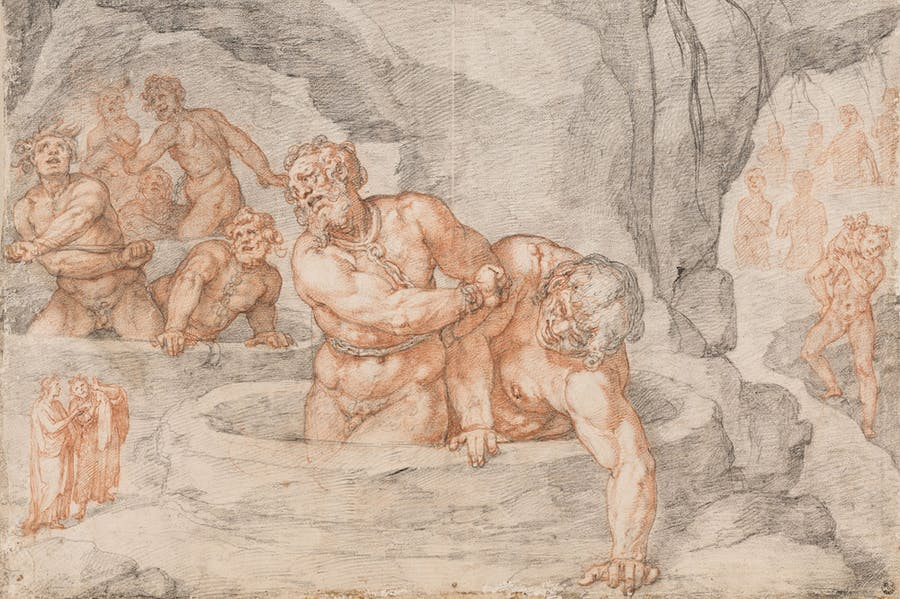 Ninth Circle: The Giants (Inferno, Canti (detail; 1586–88), Federico Zuccari.