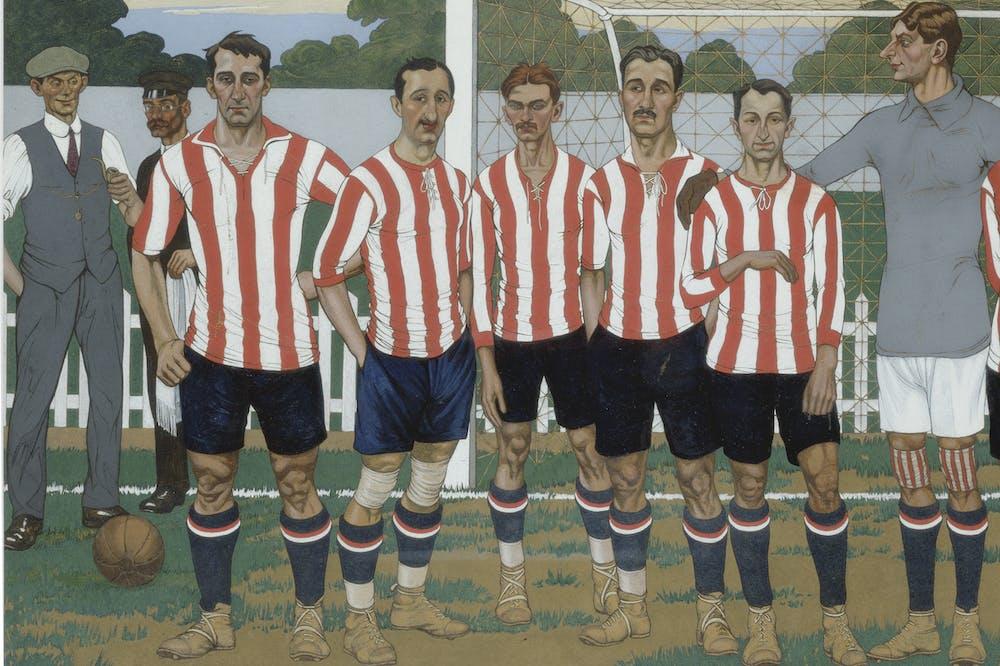 The Team of the Athletic Club (1915), José Arrue.