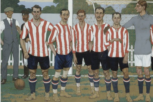 The Team of the Athletic Club (1915), José Arrue.