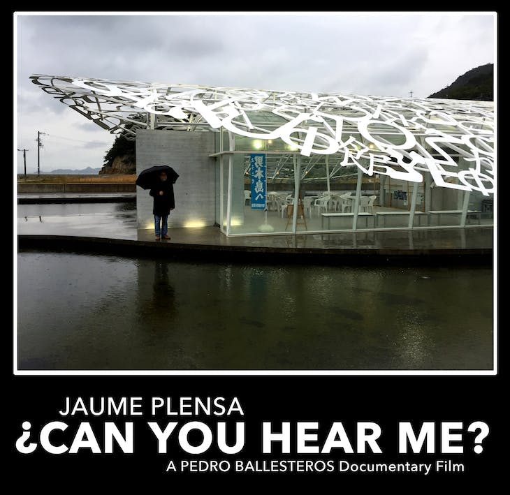 Poster for Jaume Plensa. Can you hear me? (2020), dir. by Pedro Ballesteros.