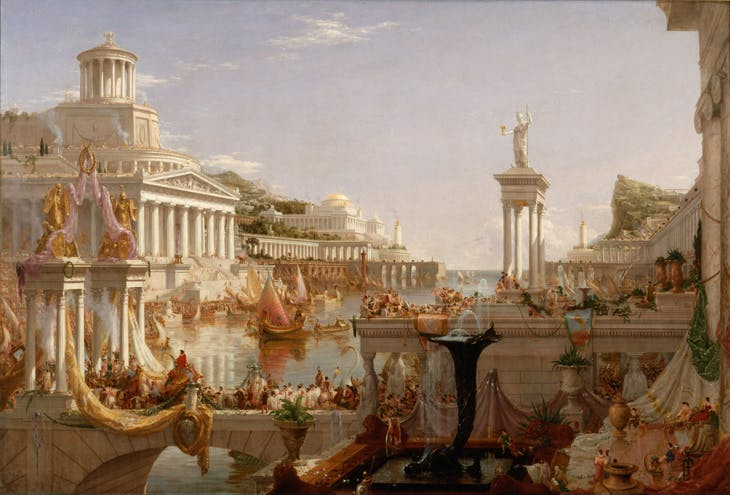 The Course of Empire: The Consummation of Empire (1835–36), Thomas Cole. Metropolitan Museum of Art, New York (photo: Wikimedia Commons)