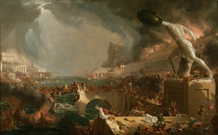 The Course of Empire: Destruction (1836), Thomas Cole. Metropolitan Museum of Art, New York (photo: Wikimedia Commons)