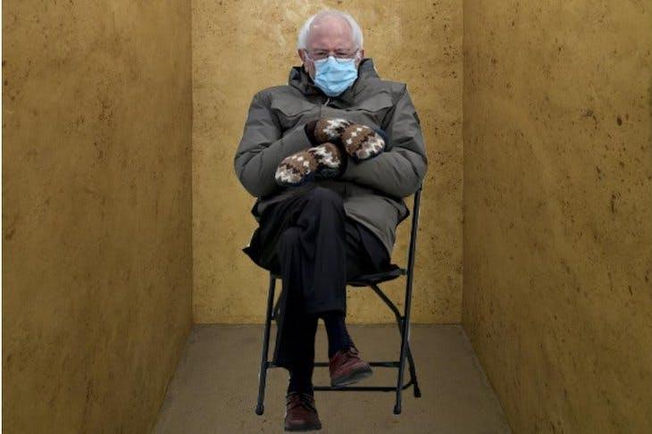 Bernie S Mittens In Art Memes Apollo Magazine