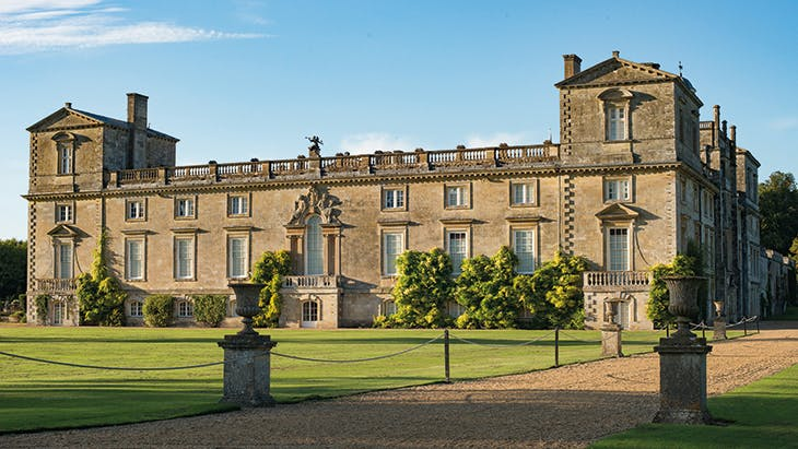 Wilton House, Wiltshire, from the south.