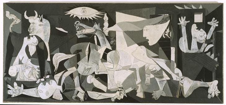 (1937), Pablo Picasso.