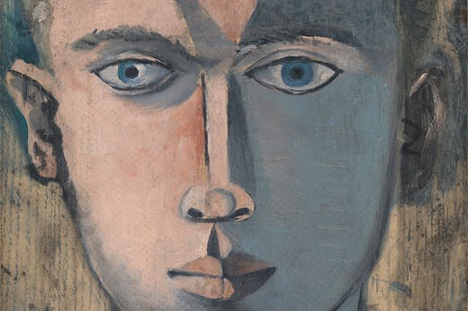 Head of Man (detail; 1948), John Craxton.