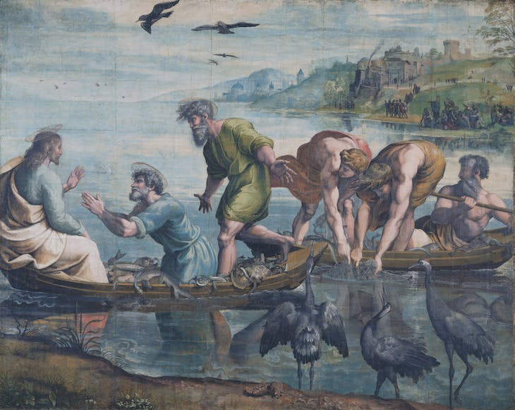 The Miraculous Draught of Fishes (1515–16), Raphael.