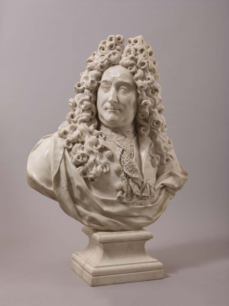 Bust of Georges Mareschal (c. 1700–10), François Girardon.