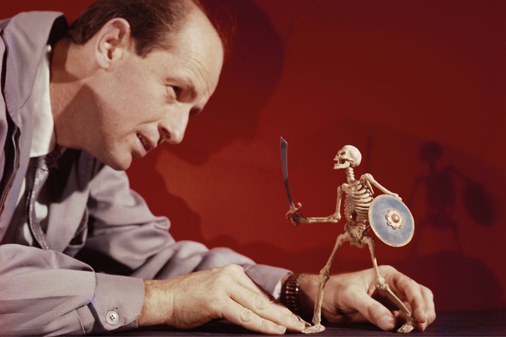 Modelling agency: Ray Harryhausen working on The 7th Voyage of Sinbad (1958)