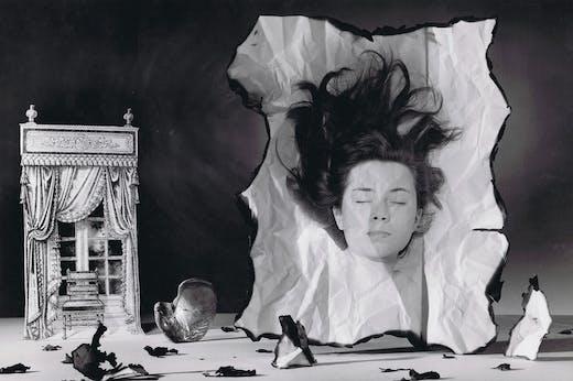 Patricia Highsmith (detail; 1942), Rolf Tietgens.