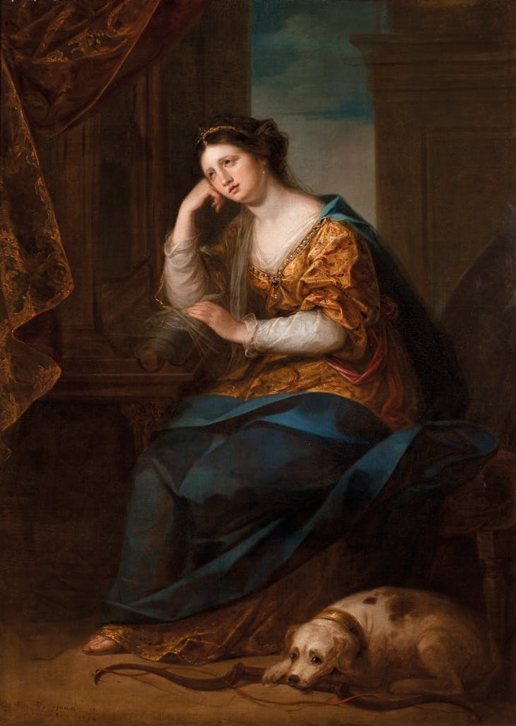 Penelope at Her Loom (1764), Angelica Kauffman. Brighton and Hove Museums and Art Galleries.