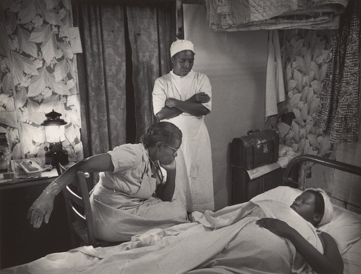 Untitled (from Nurse Midwife) (1951), W. Eugene Smith.