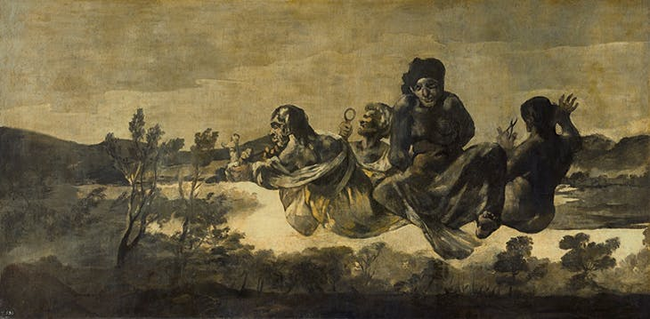 Atropos or The Fates (1820–23), Francisco de Goya. Museo del Prado, Madrid