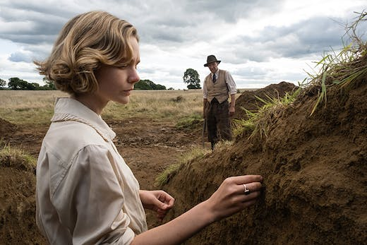 Carey Mulligan as Edith Pretty in 'The Dig'. Courtesy Larry Horricks/Netflix