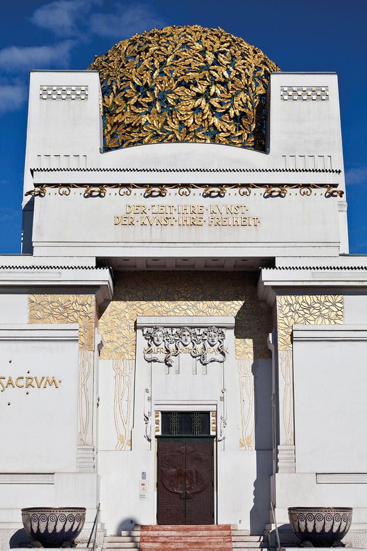 The Secession building in Vienna, built in 1898 and designed by Joseph Maria Olbrich.