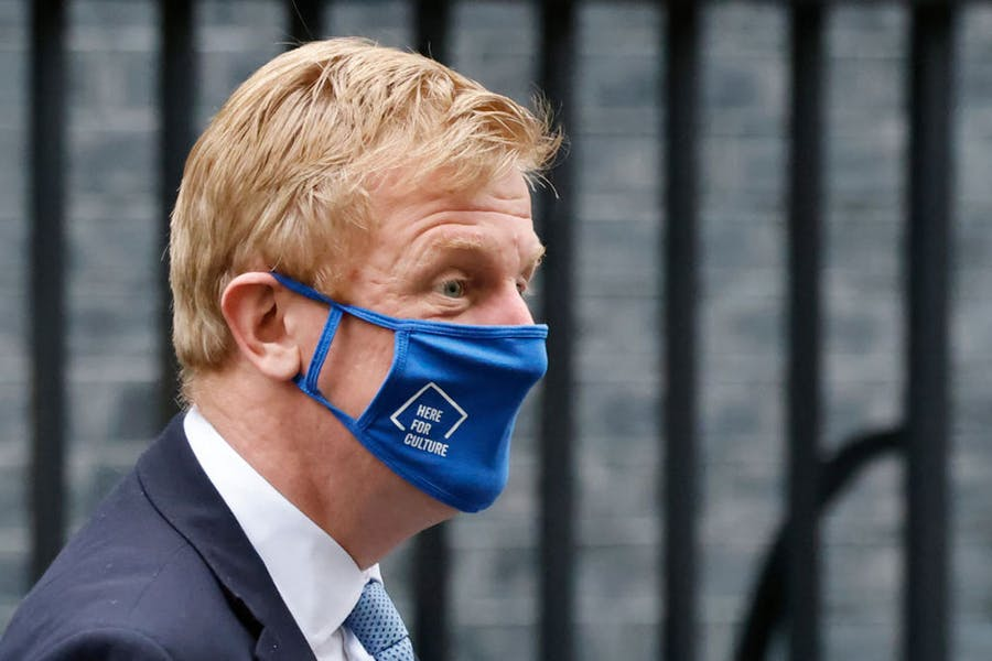 Here for culture? Oliver Dowden, the UK culture secretary