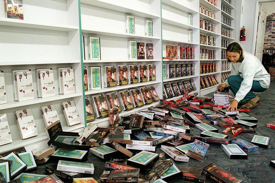 Market crash: does anybody mourn the death of VHS?