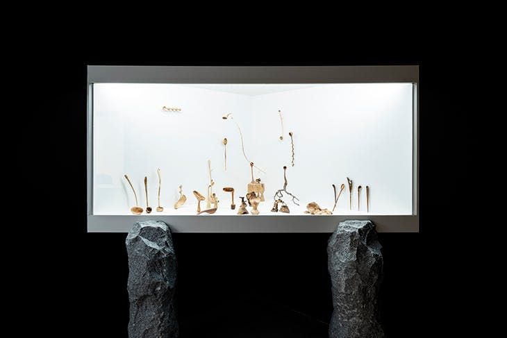 Installation view of 'Mok Woo Workshop, 108 Wooden Spoons' at the National Museum of Modern and Contemporary Art (MMCA), Seoul