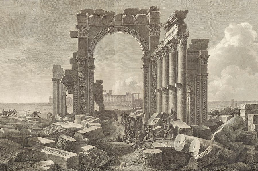 Monumental Arch (1799), Desmaisons and Pierre Gabriel Berthault after Louis-François Cassas.