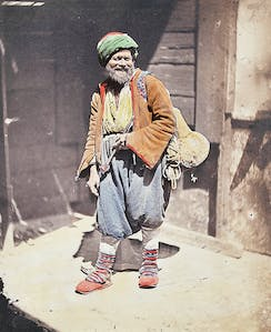 The Itinerant Tradesman, Constantinople (1852), James Robertson. Serge Kakou Collection, Paris