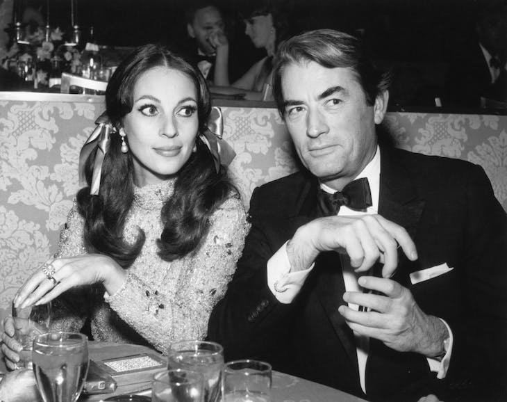 Véronique and Gregory Peck in 1967