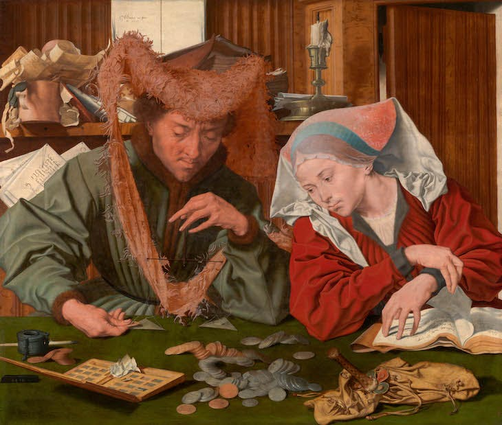 The Money-Changer and His Wife (1539), Marinus van Reymerswale.
