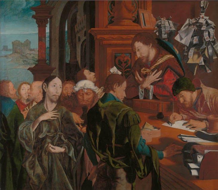 The Calling of Saint Matthew (after 1536), Marinus an Reymerswale.