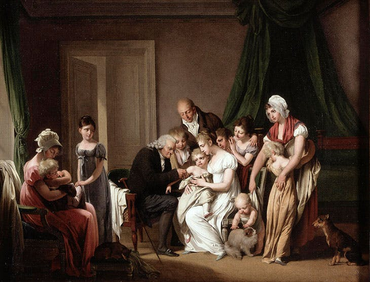 L'innoculation (c. 1807), Louis-Léopold Boilly. Wellcome Collection, London (CC BY-NC 4.0)