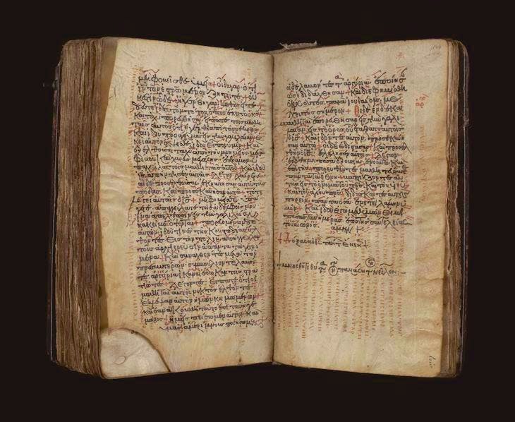The Codex Zacynthius.