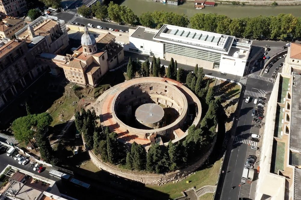 The Mausoleum of Augustus.