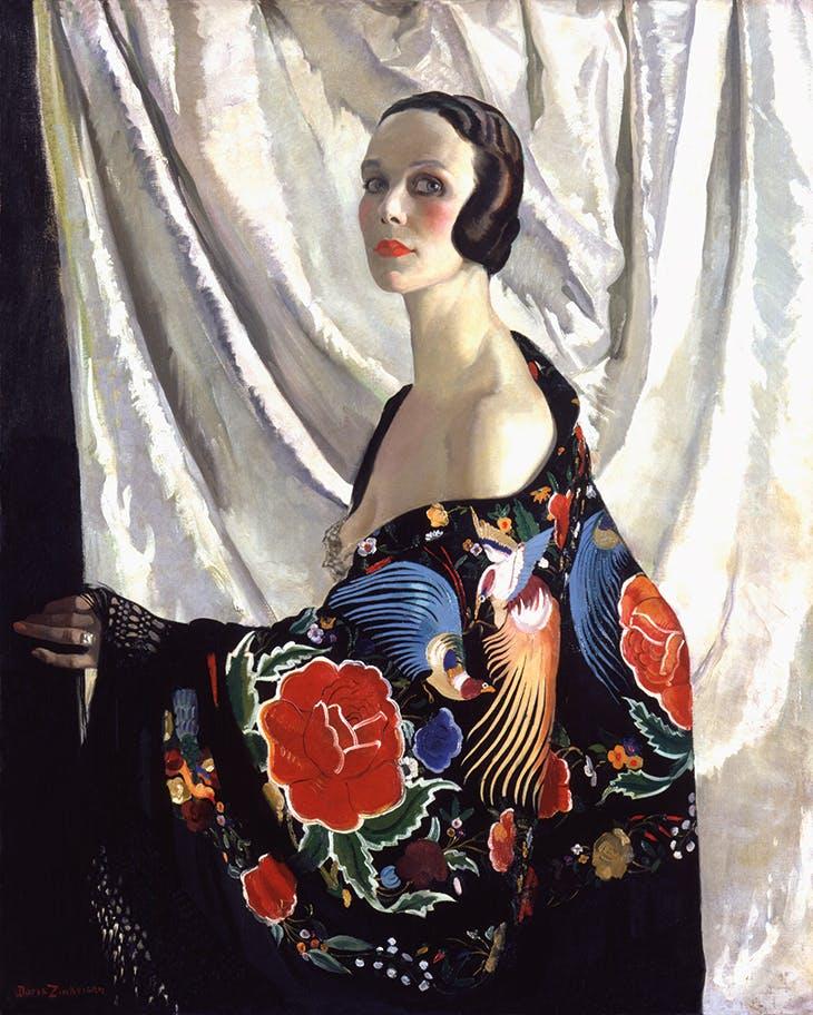 Self-portrait (1929), Doris Zinkeisen.